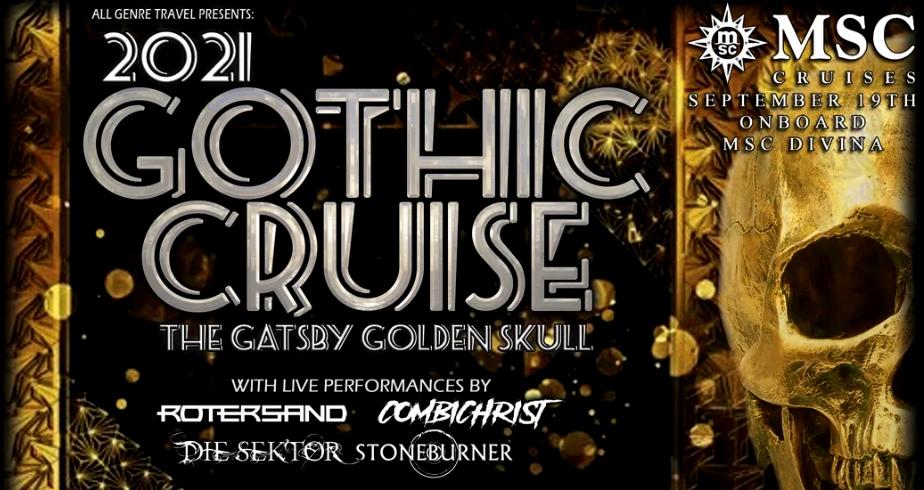 2021 GOTHIC CRUISE | THE GATSBY GOLDEN SKULL